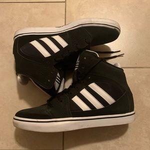 High Top Adidas size 9 1/2